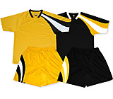 Example of Soccer Uniform Kit Sample by Code Four Athletics.