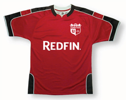 Soccer sponsorship jersey by Code Four Athletics