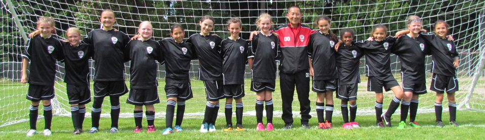 Soccer team in Nova soccer kit by Code Four Athletics