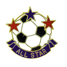 All Star Soccer Pin #116