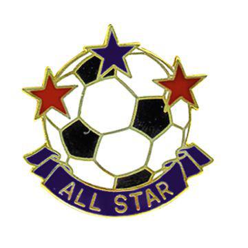 All Star Soccer Pin #116