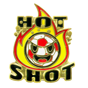 Hot Shot Soccer Pin #277