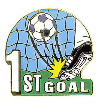 First Goal Soccer Pin #195