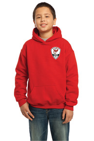 Lakewood Phoenix youth hoody, in red
