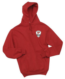 Lakewood Phoenix adult team hoody, in red