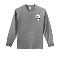 Lakewood Phoenix l/s cotton tee, in dark gray