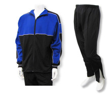 Sparta soccer warm-up jacket-pant set in royal/black