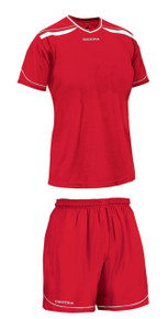 Diadora women's Treviso soccer kit, in red