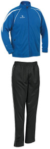 Diadora Rigore soccer warmup set with royal jacket