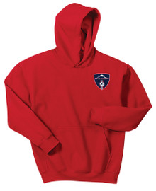 MRFC 50/50 hoody in red