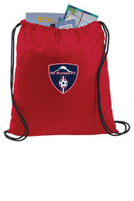 MRFC cinch sackpack in red