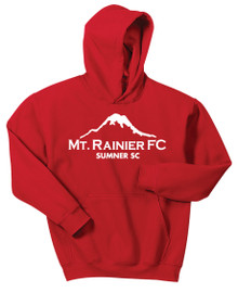 MRFC-SSC 50/50 hoody, in red