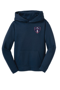 MRFC Sport-Wick Tech Hoody in Navy