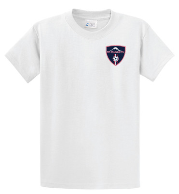 MRFC s/s cotton tee in white