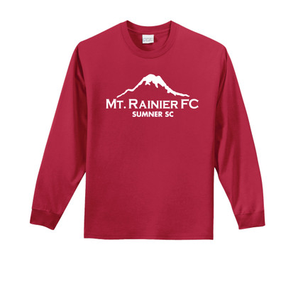 MRFC-SSC l/s cotton tee in red
