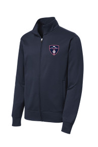 MRFC Sport Wick zip jacket in navy