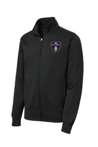 MRFC Sport Wick zip jacket in black