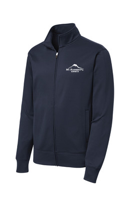 MRFC-SSC Sport Wick zip jacket in navy