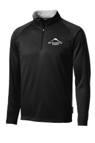 MRFC-SSC Sport-Wick 1/4-zip tech pullover in black