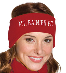 Mt. Rainier FC stretch fleece headband