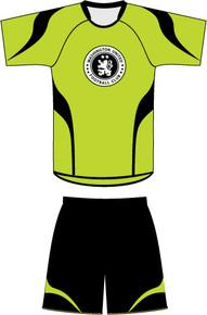 Code Four custom soccer uniform kit example