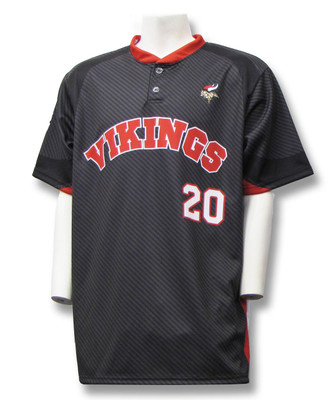 Sublimated baseball jersey - Vikings