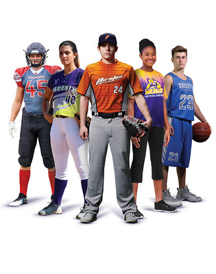 Custom sublimated uniforms for all sports including baseball, soccer, softball and more - by Code Four Athletics