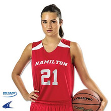 Custom Jerseys for all sports by Code Four Athletics - women's basketball