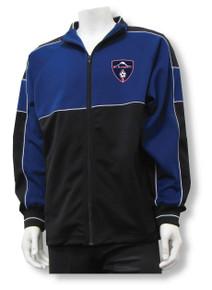 MRFC Premier warmup jacket, in navy/black
