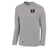 MRFC long-sleeve LiteTech top, in silver
