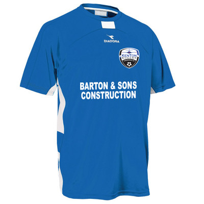 Kenton SA youth/men's home jersey, in royal