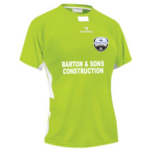 Kenton SA women's away jersey, in Seattle Green