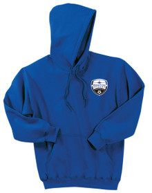 Kenton SA pullover 50/50 hoody, in royal