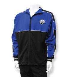 Kenton SA Sparta warmup jacket, in royal/black
