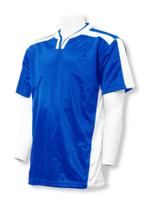 Winchester soccer jersey in royal/white