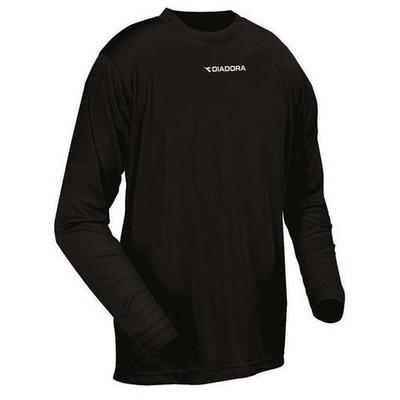 DIadora long-sleeve Leggera performance top, in black
