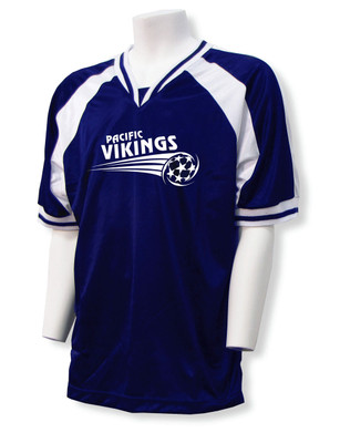 Spitfire Soccer Jersey in Navy/White