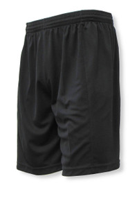 Club soccer shorts in black