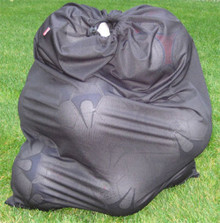 Soccer ball / equipment bag in black
