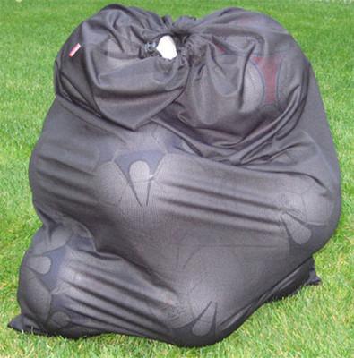 Soccer ball / equipment bag in black
