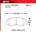 Front Pads - HB143F.680
