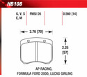 Front Pads - HB108E.560