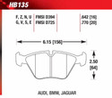 Front Pads - HB135E.770