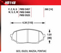 Front Pads - HB148G.560