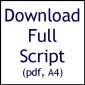 E-Script (Pretzels For Dinner) A4