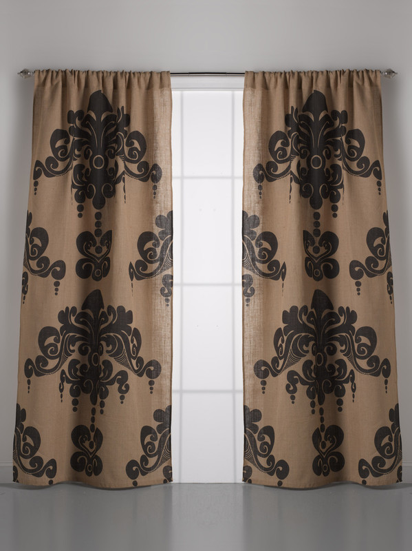 Marvelous Couture Dreams Enchantique Natural Bark Jute Curtain Pair