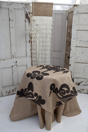Enchantique Natural Jute Table Topper
