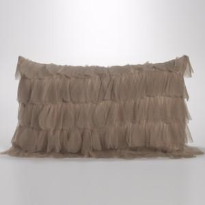 Couture Dreams Chichi Sable Petal Decorative Pillow