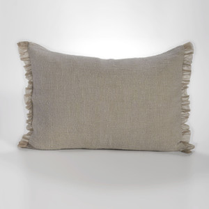 Couture Dreams Whisper Flax Linen Standard Sham