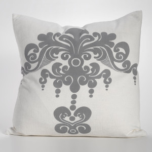 Enchantique Dark Grey Decorative Pillow